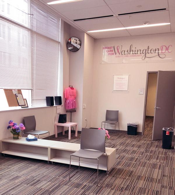 BCW waiting area
