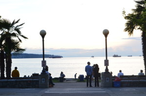 Spectacular Sunset at English Bay