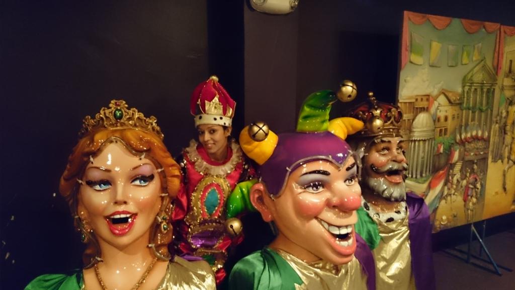 Inside Kern Studios (World of Mardi Gras)