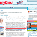 My article on car sharing service was mentioned on Moneysense blog | Media Mentions