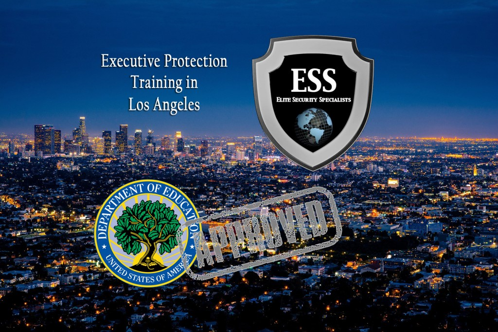 Bodyguard training in los angeles ... no. It's Executive Protection Training