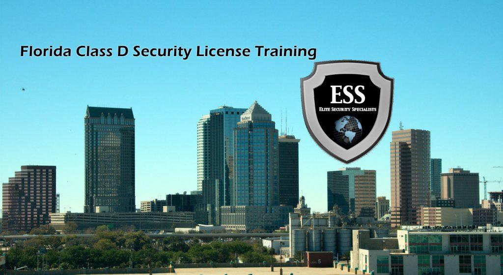 Florida Class D Security License Training At ESS
