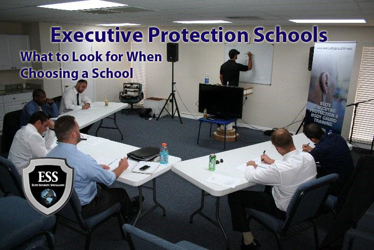 executive protection schools