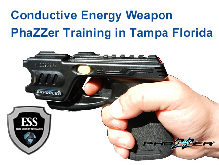 Conductive Energy Weapon Phazzer Training in Tampa