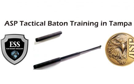 Tactical Baton Training July 30 in Tampa