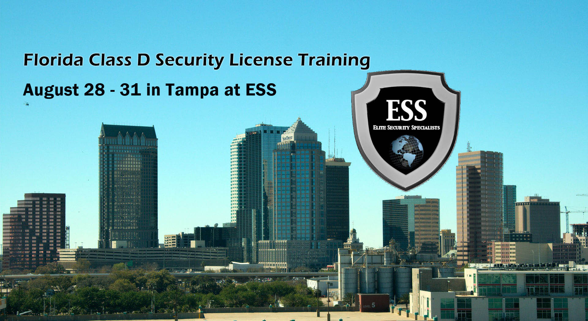 Florida Class D Security License Class in Tampa August