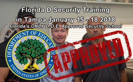 Florida D License Training in Tampa January 15 -18
