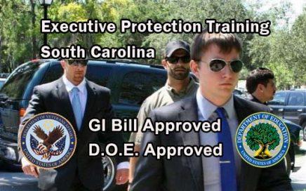 GI Bill Approved Executive Protection Training - South Carolina