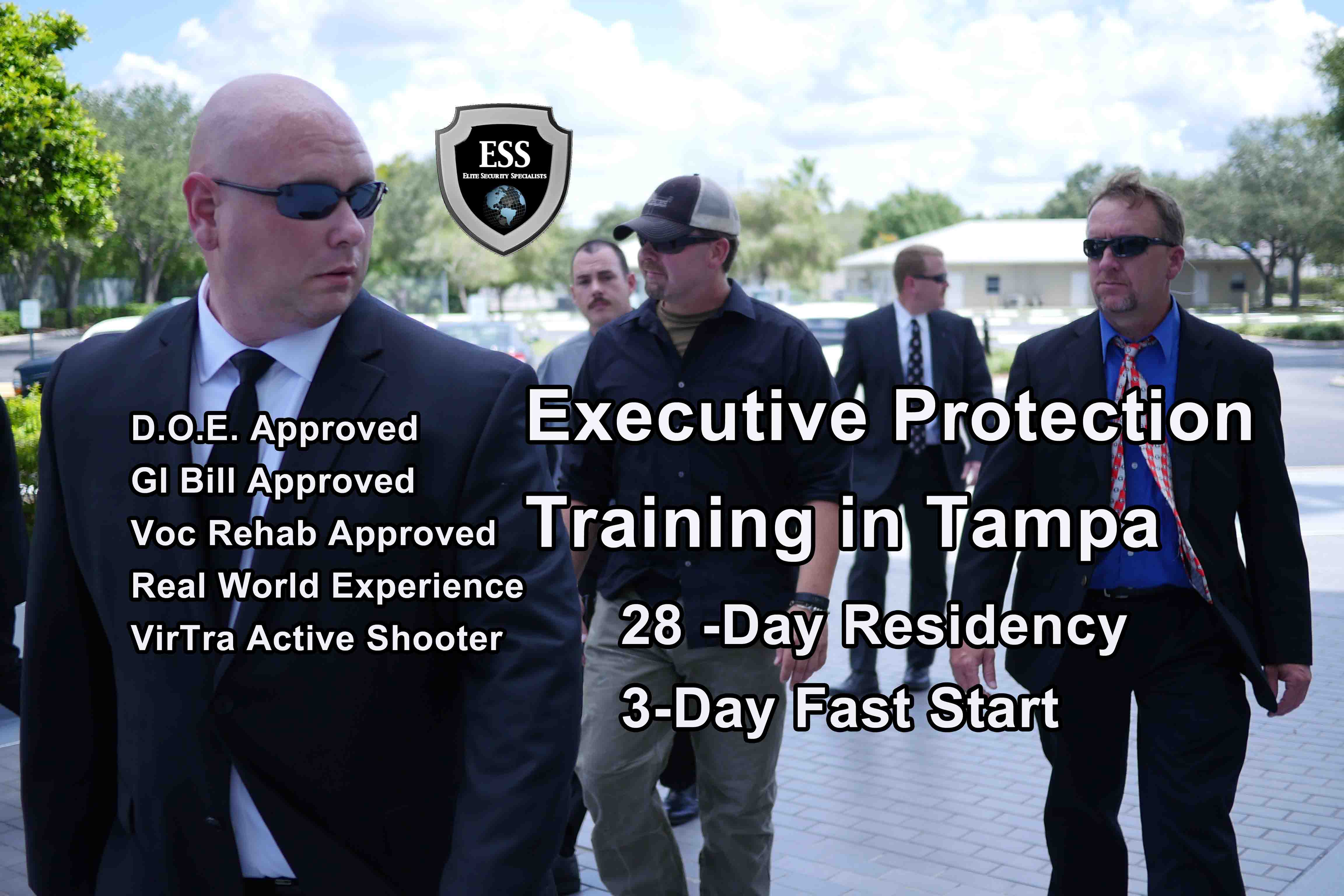 Best Executive Protection Training