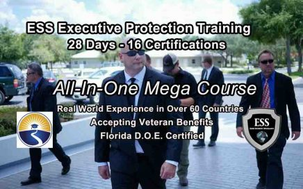 Bodyguard Training - Florida 28 day