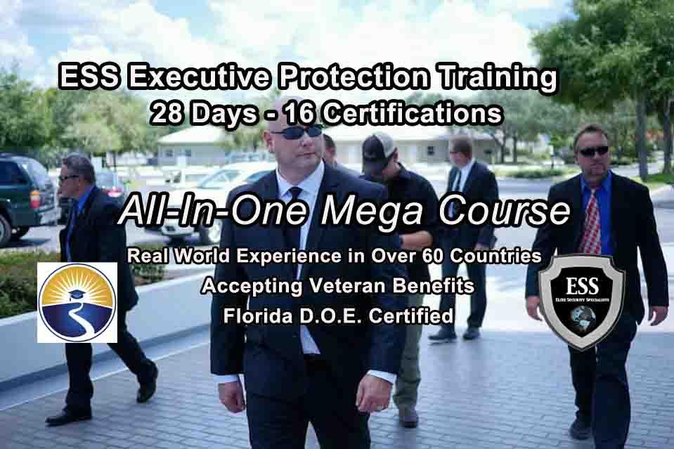 Bodyguard Training - Florida 28 day