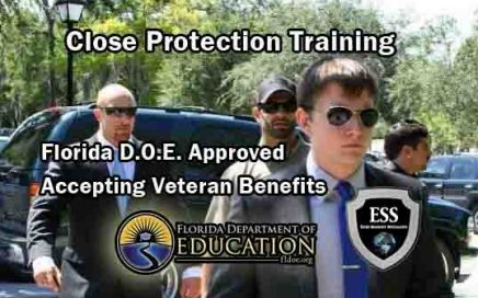 Close Protection Training - Accepting GII Bill Benefits