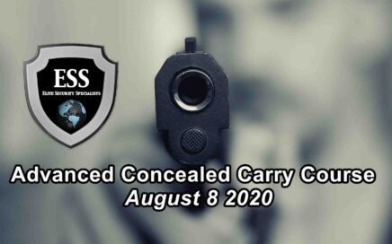 Advanced Concealed Carry Course in Tampa August