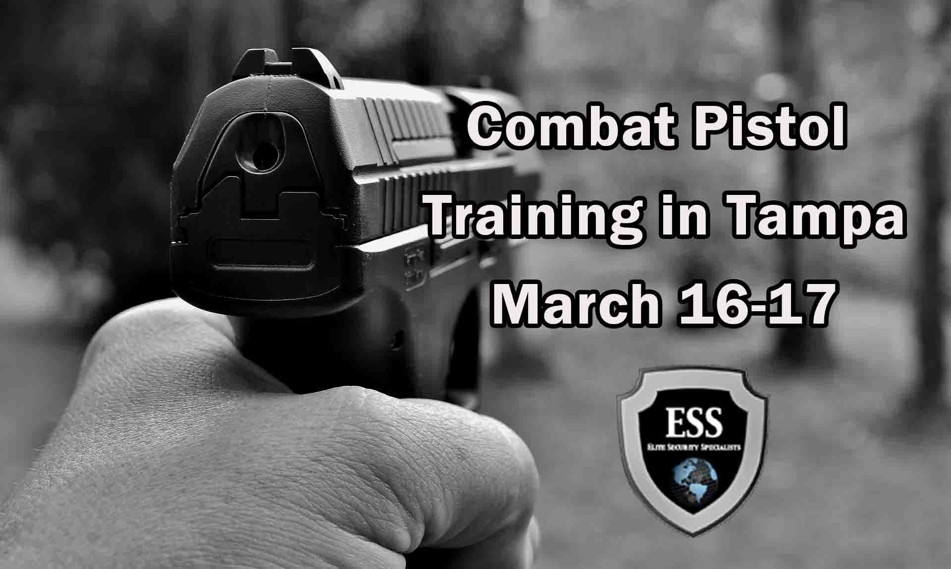 Combat Pistol Training in Tampa 1