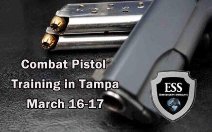 Combat Pistol Training in Tampa 2