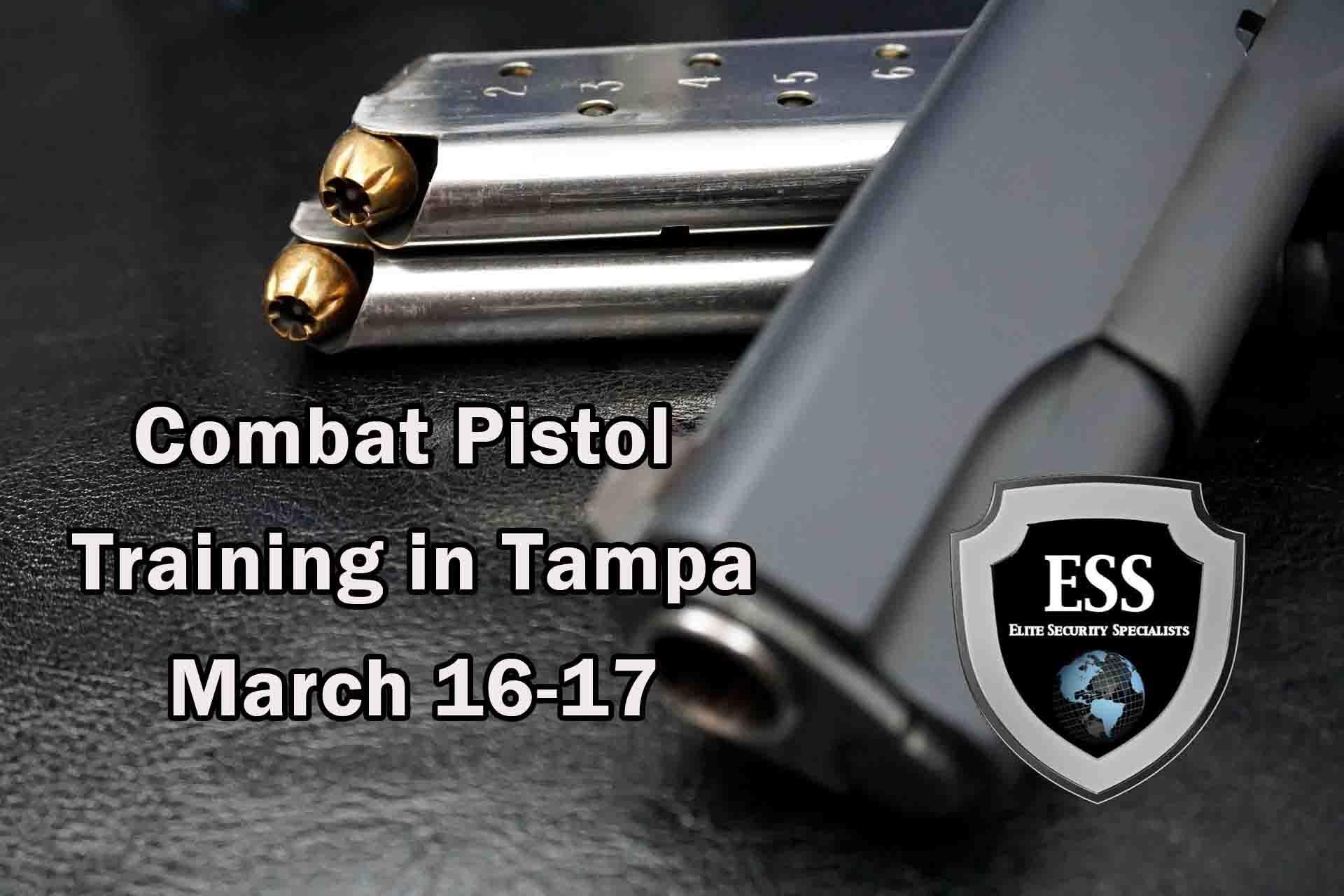 Combat Pistol Training in Tampa 2