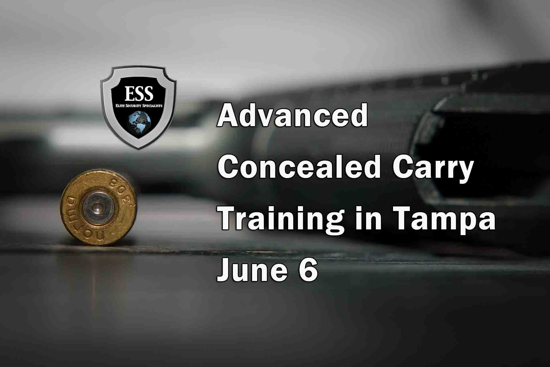 Advanced Concealed Carry Training in Tampa JUNE