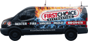 Disaster Restoration in Philadelphia, PA – First Choice Restoration – Company Truck Image