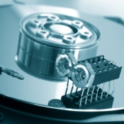 "Hard disk-drive with ""virus"""