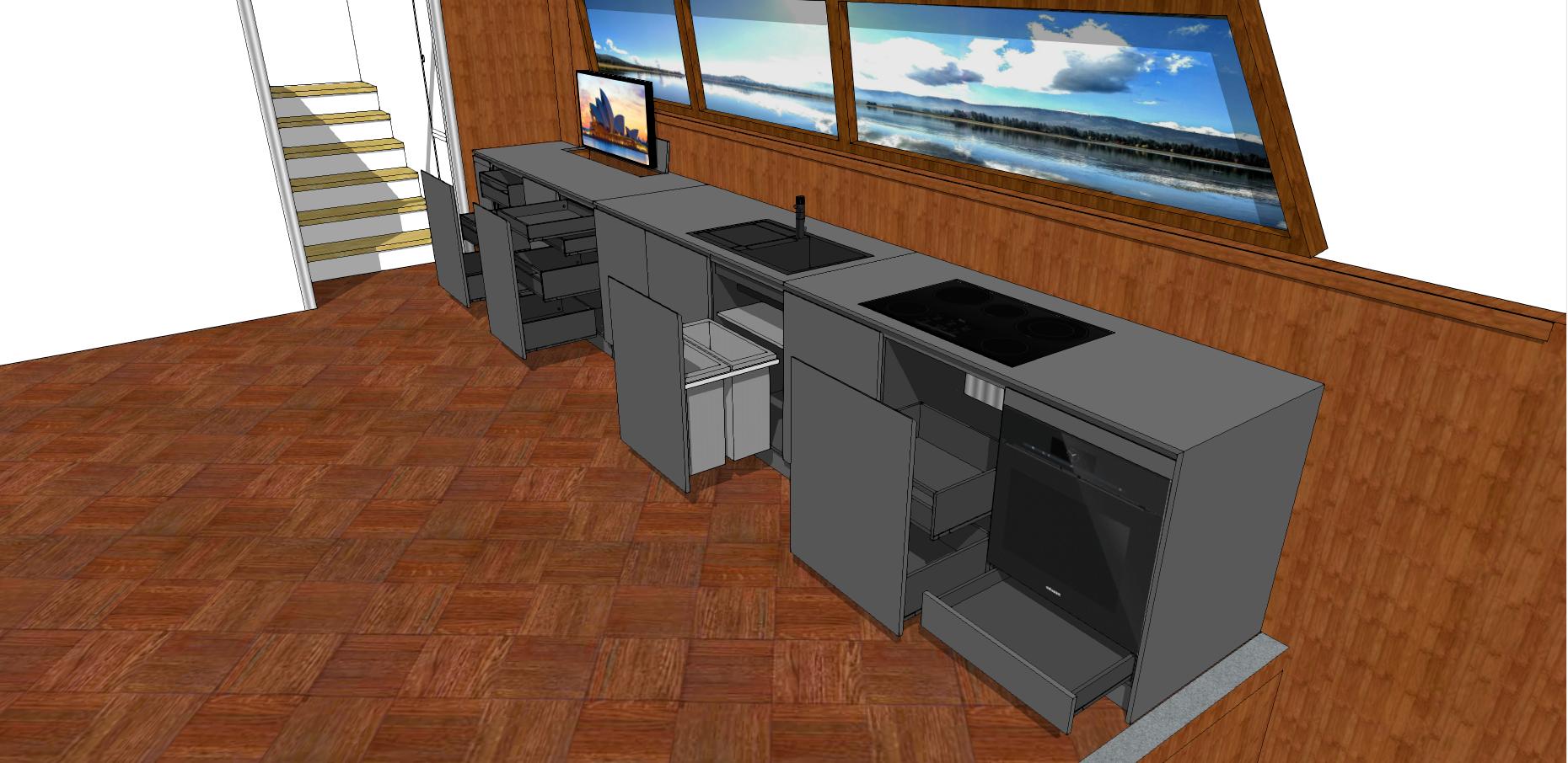 Kitchen Fenix - Boat _Scene 4.10