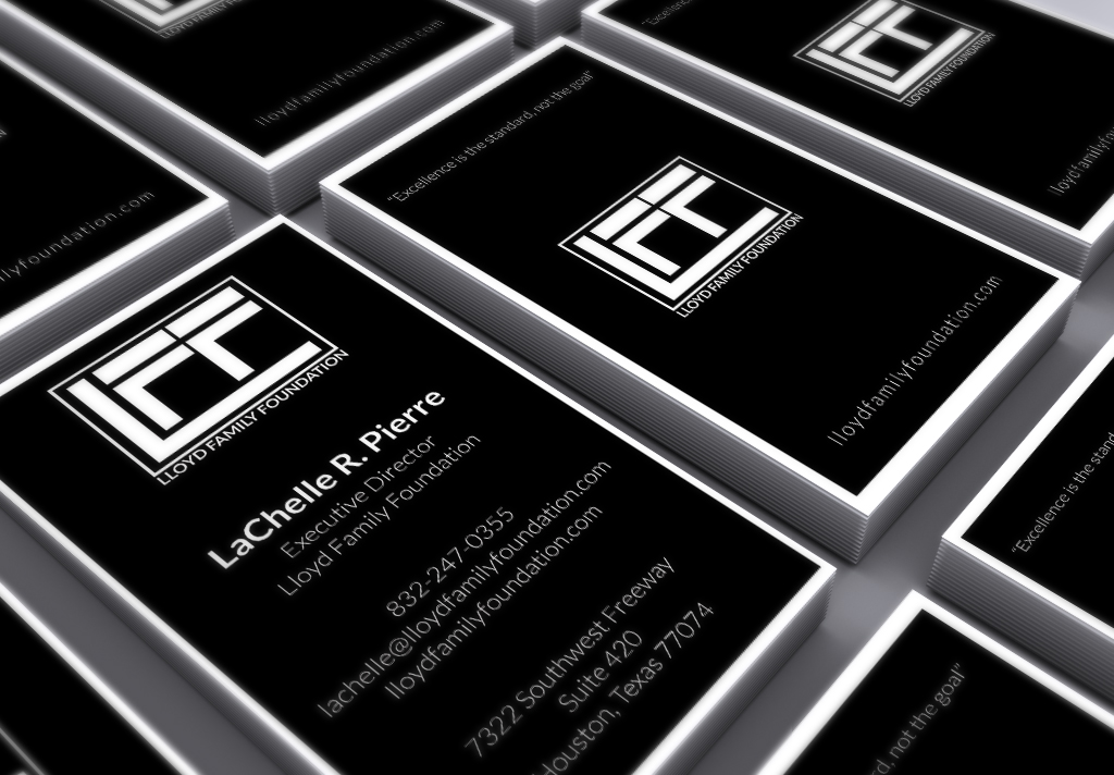 Lloyd Family Foundation Biz Cards Mock Up