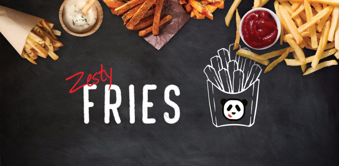 zesty fries