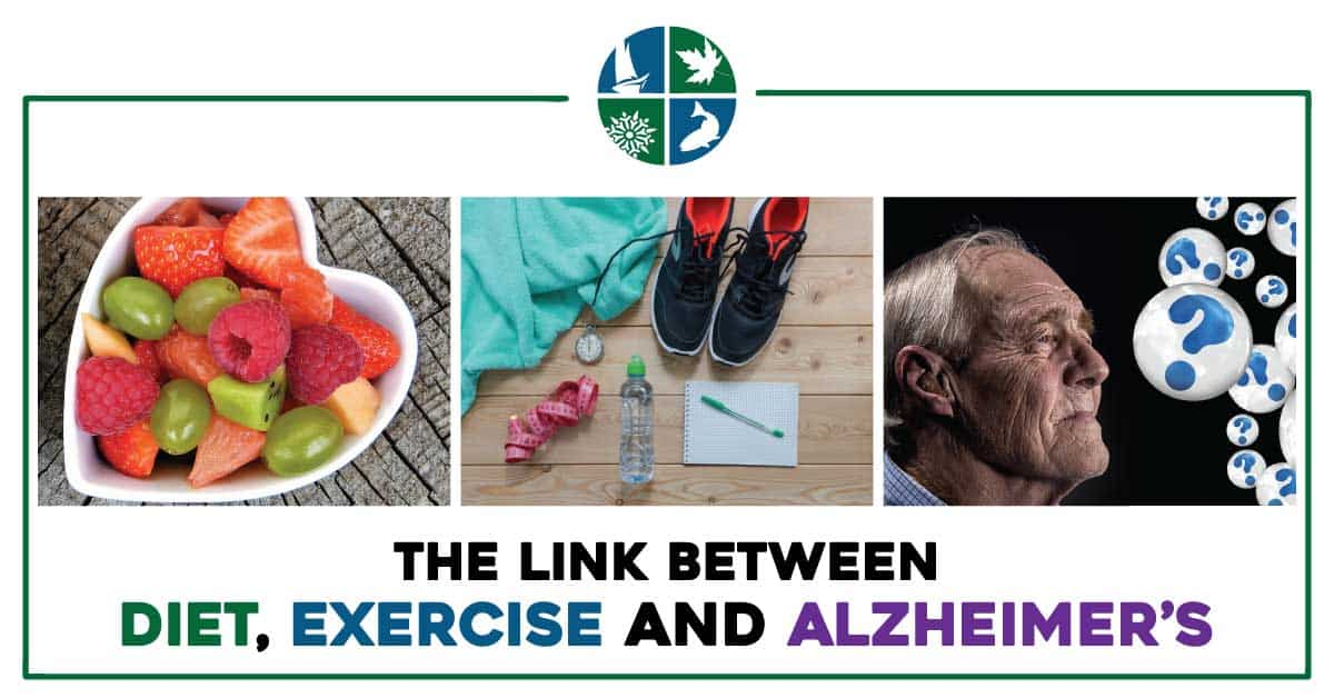 diet, exercise Alzheimers