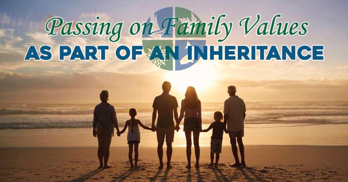 family values inheritance