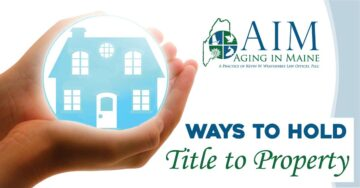 ways to hold title to property
