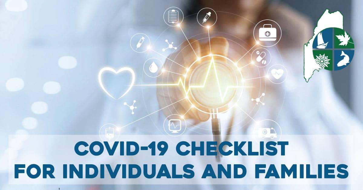 covid-19 check list