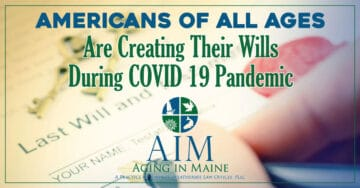 Americans creating wills