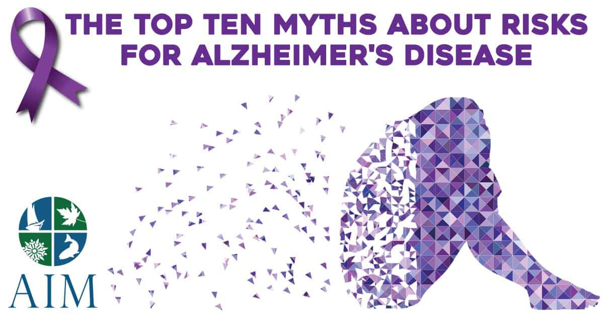 10 Myths about Alzeimers