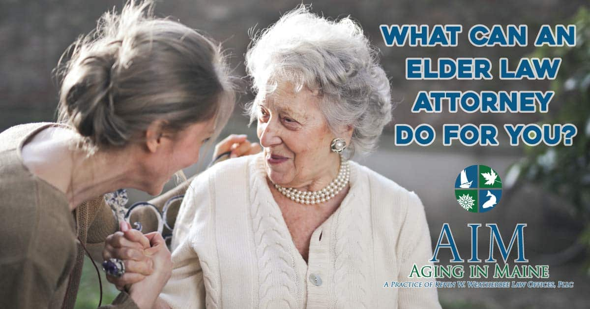 what can elder law attorney do for you?