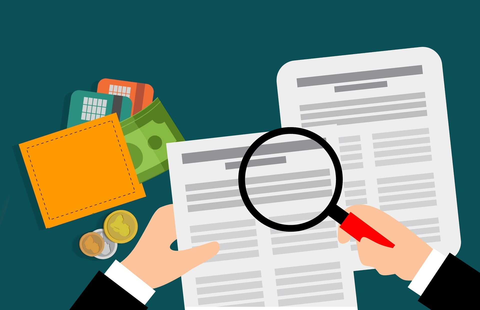 financial information in order