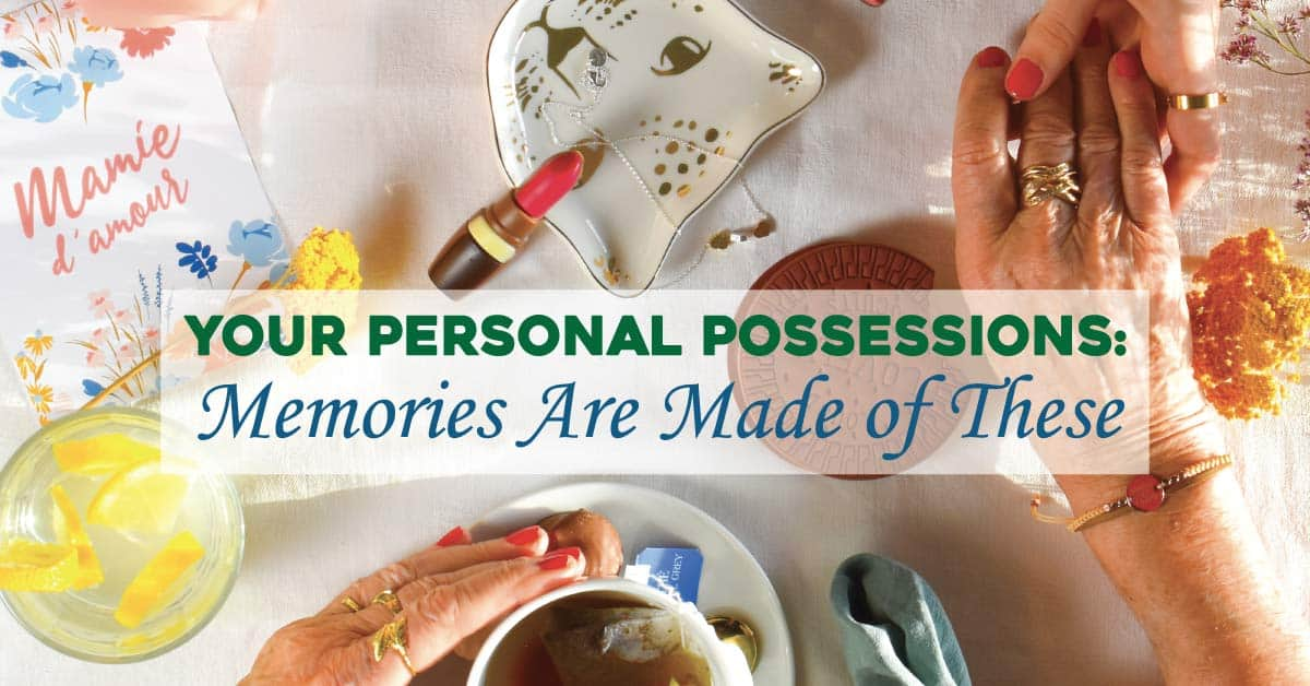 estate and personal possessions