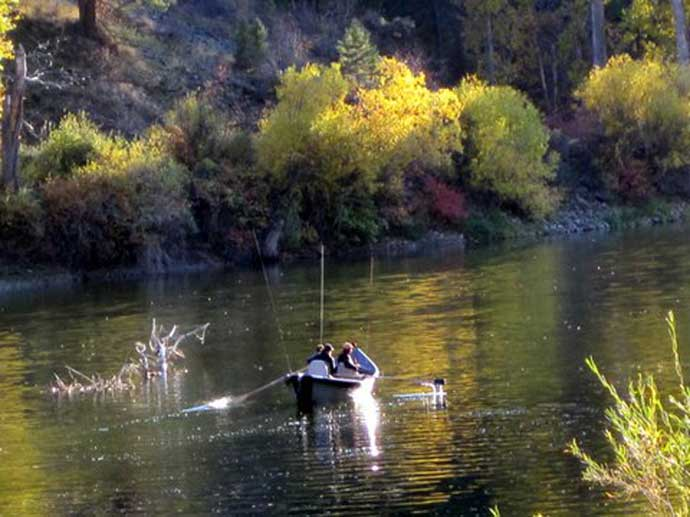 Salmon River Trout Fishing