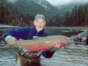 Wilderness Steelhead Fishing Trip