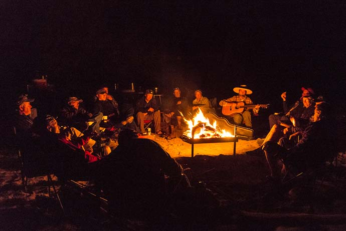 Gather round the campfire