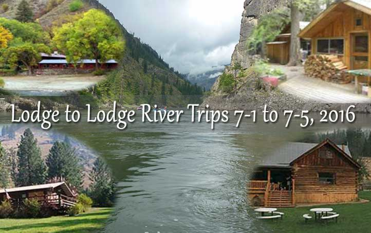 Lodge to Lodge Wilderness Rafting Trip 2016