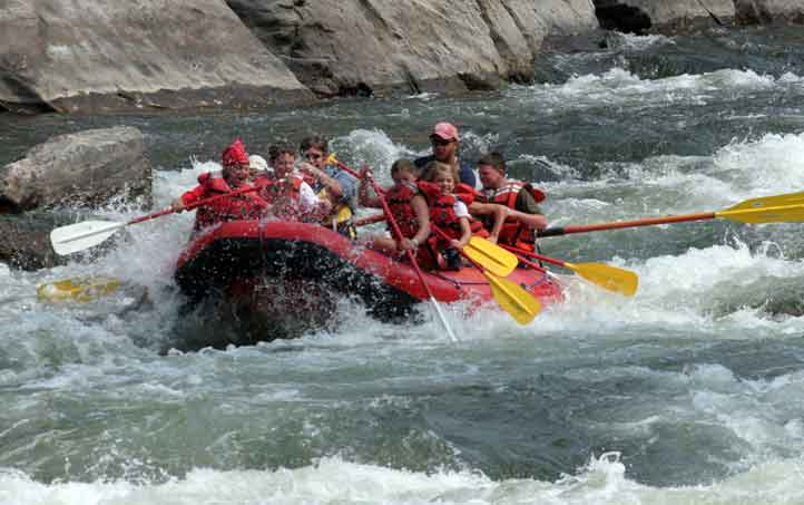 2017 River Rafting Season Expecting Fantastic Flows
