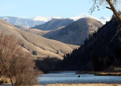 Salmon River Fishing for trout