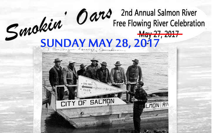 2nd Annual Smokin' Oars 1 Day-100 Miles Salmon River Run