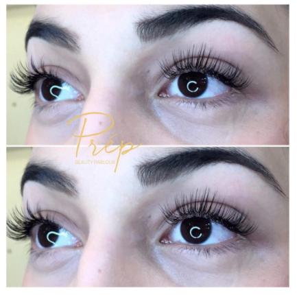 Lash Extensions at Prép Beauty Parlour