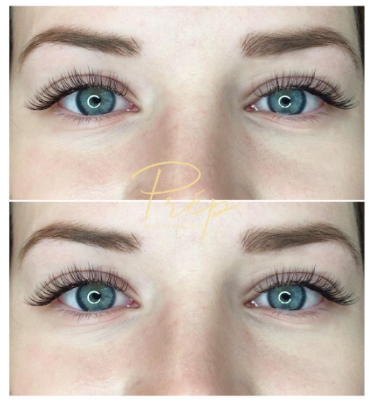 Eyelash Extensions at Prép Beauty Parlour