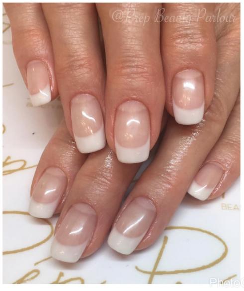Gel French Manicure Vancouver | Prép Beauty Parlour