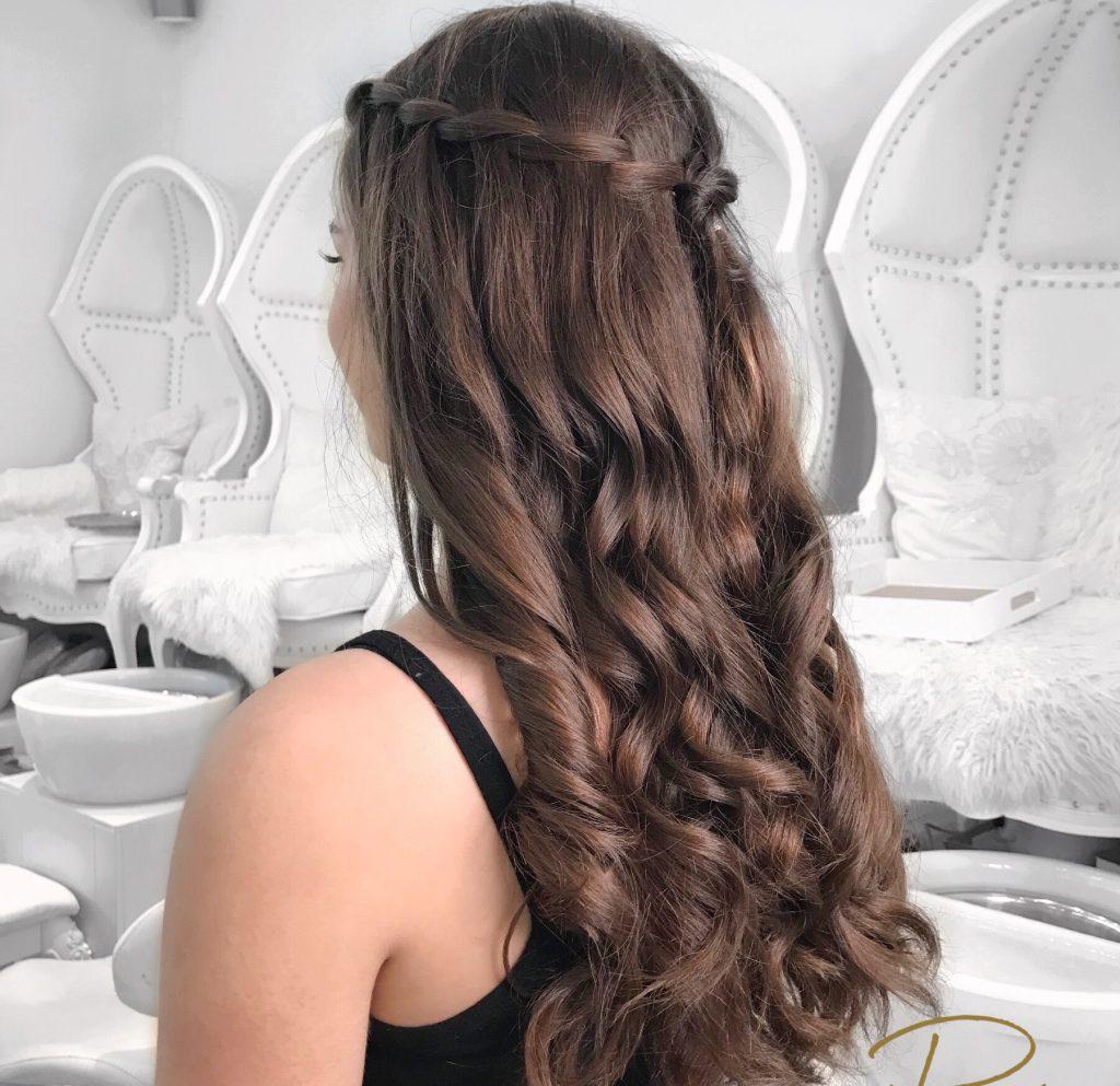Grad Prom Hair Makeup Vancouver | Prép Beauty Parlourv
