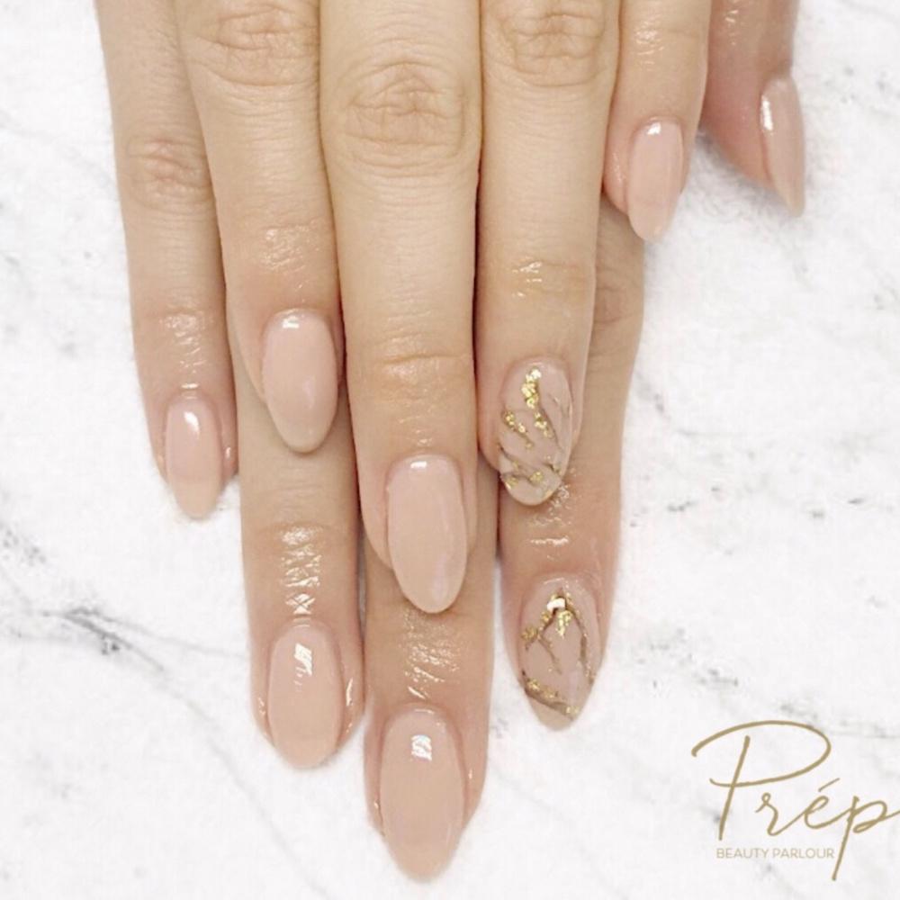 Marble Nail Art Vancouver   Prép Beauty Parlour