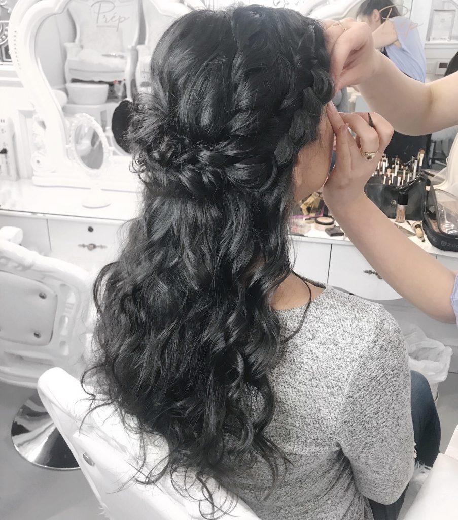 Grad Prom Hair Makeup Vancouver | Prép Beauty Parlour