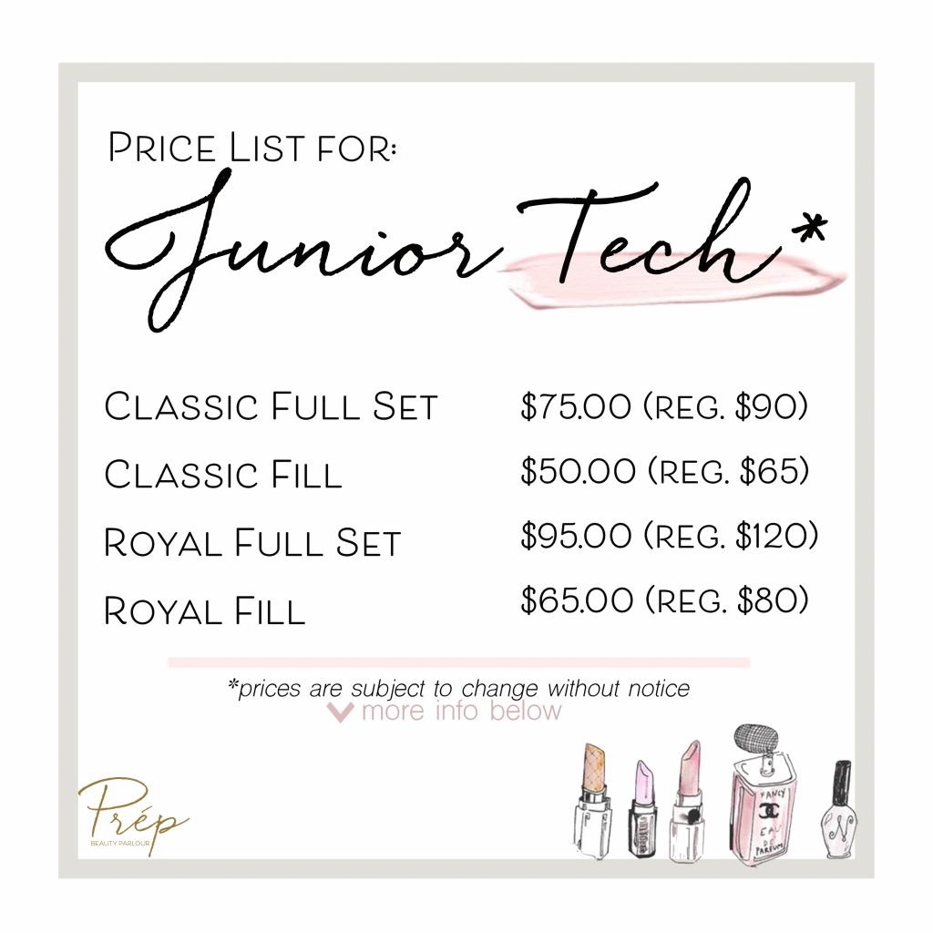 Jr Junior Eyelash Extensions Price
