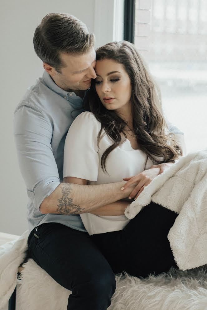 Spotlight: Engagement Photoshoot with Janelle Saccucci & @PhotosbyLees | Prép Beauty Parlour